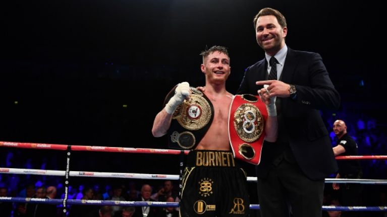 After Ryan Burnett signs for Top Rank, Eddie Hearn explains what happened with Belfast boxer