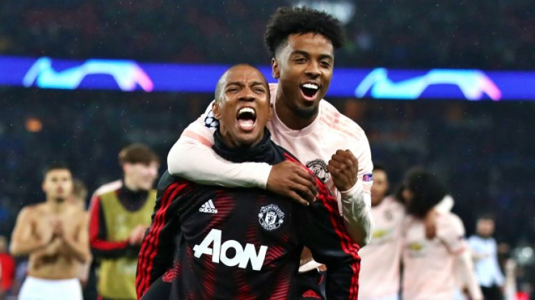 Angel Gomes considering leaving Man United for European giants