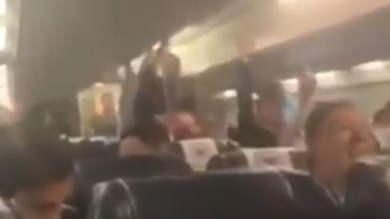 Manchester City deny players were mocking Sean Cox in plane chant