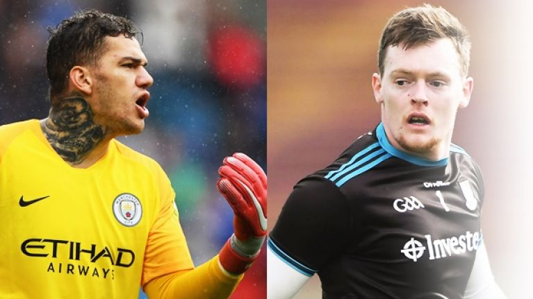 """For him, it's two steps back and he's still pelting it the other end of the field"" - Beggan learning from Ederson"
