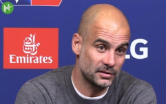 Pep Guardiola snaps at journalist's question over separate payments