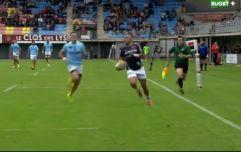 Watch: Simon Zebo scores stunning hat-trick against Perpignan