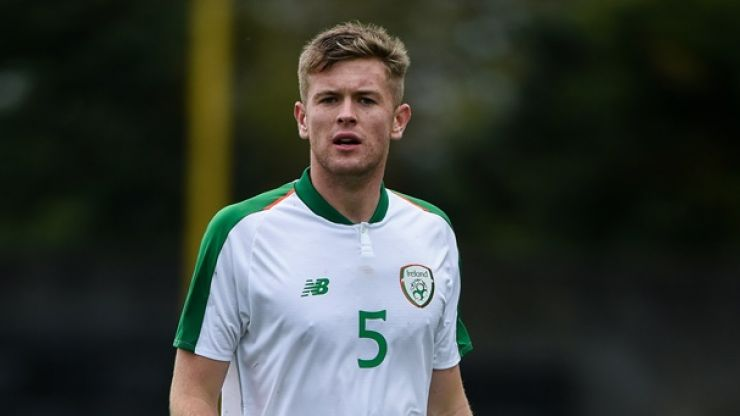 Manchester United eyeing up Ireland underage defender