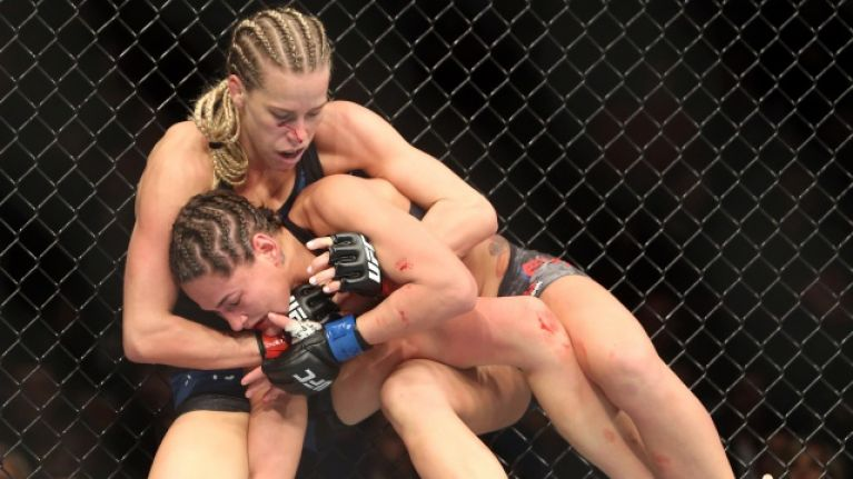 UFC contender Katlyn Chookagian pleads with male fans to stop sending her masturbation videos