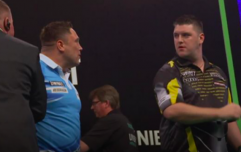 Daryl Gurney apologises for incident with Gerwyn Price after Premier League clash