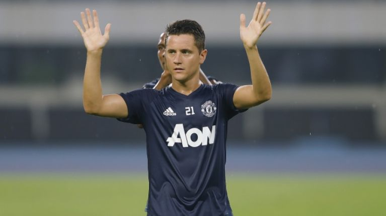 Manchester United confirm Ander Herrera departure
