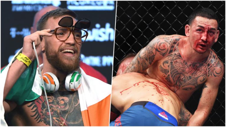 Conor McGregor deletes tweet about Max Holloway's most recent fight