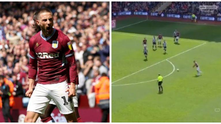 Conor Hourihane rifles home stunning equaliser for Aston Villa