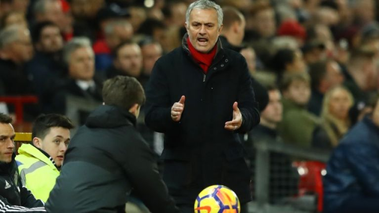 Jose Mourinho takes veiled dig at Manchester United's ball-boys in praise of Liverpool's