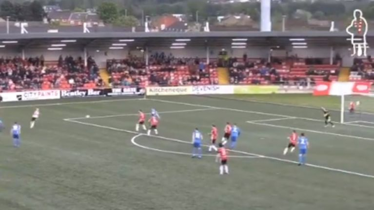 Lee Desmond scores a screamer of a first goal for St. Patrick's Athletic