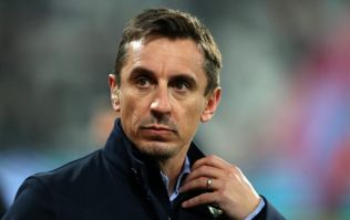 Man City fans throw beer at Gary Neville following win over Brighton