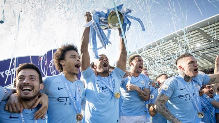 Gary Neville explains why Manchester City are the greatest Premier League team