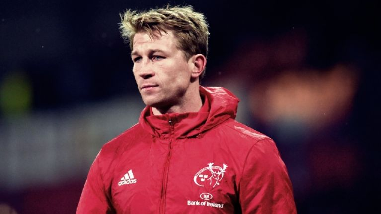 'I really want to win something for Munster and repay everything Munster has done for me' - Jerry Flannery