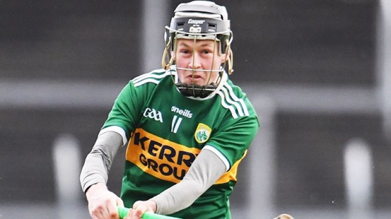 """""""It is a bit of a pity that our games aren't covered"""" - Conway hoping to spread hurling gospel in Kingdom"""