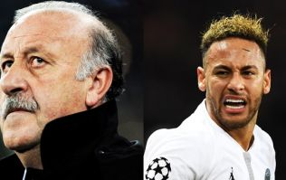 Vicente del Bosque blames Neymar for encouraging young players to dive