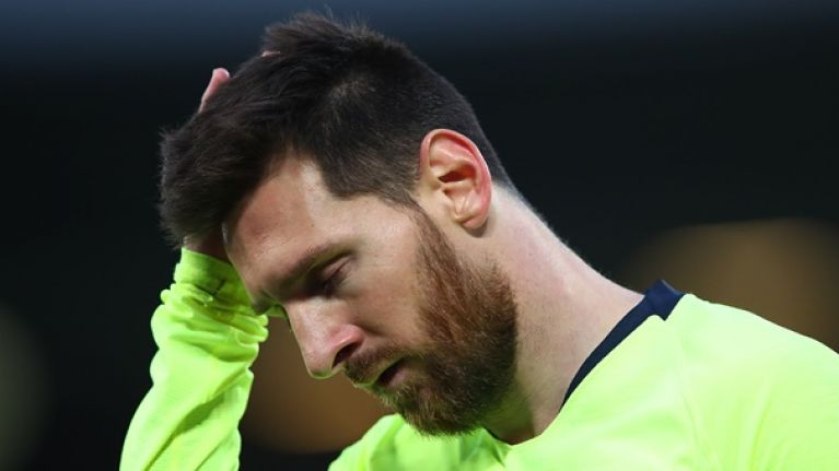 Lionel Messi ranks Liverpool loss among the worst of his career