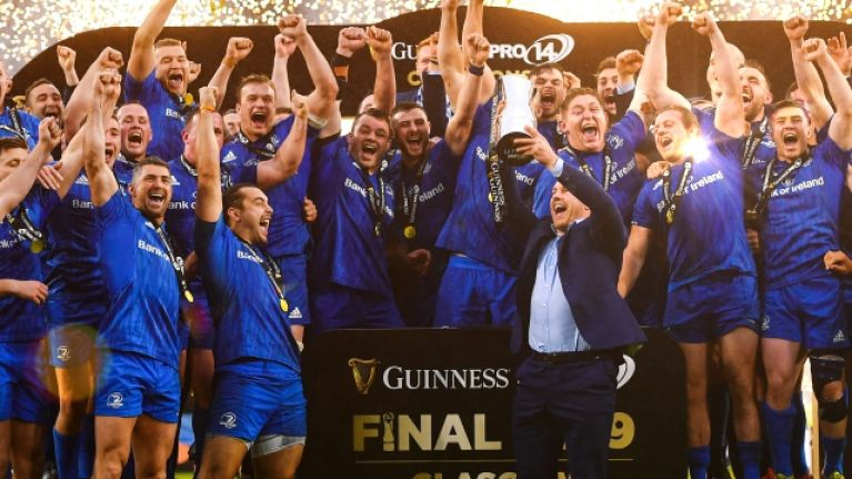 Leinster decision to let Sean O'Brien lift trophy settled way before kick-off