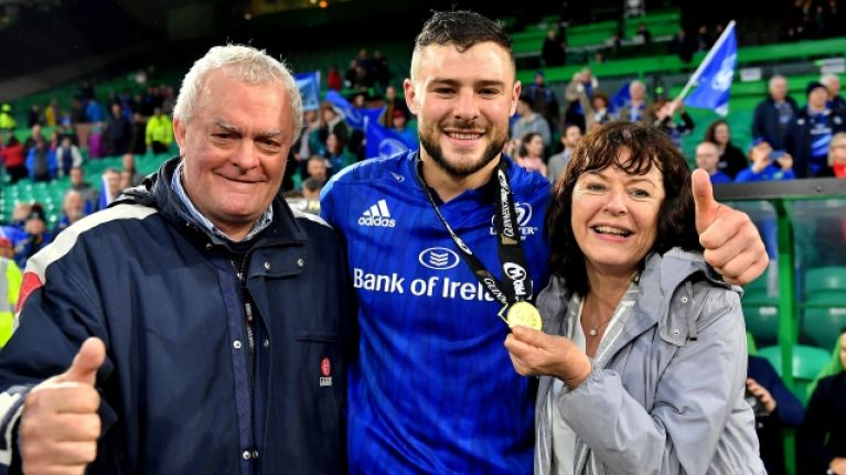 Robbie Henshaw gives away match boots in lovely post-match gesture