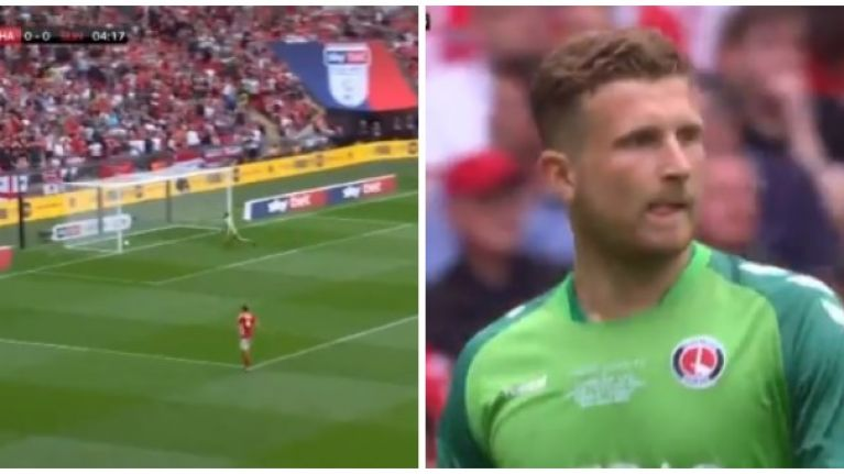 Charlton concede nightmare own goal in playoff final