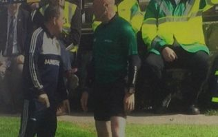 Davy Fitzgerald sent to the stands after blowing up on the sidelines