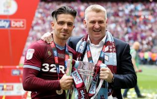 Jack Grealish cut his head open during trophy lift