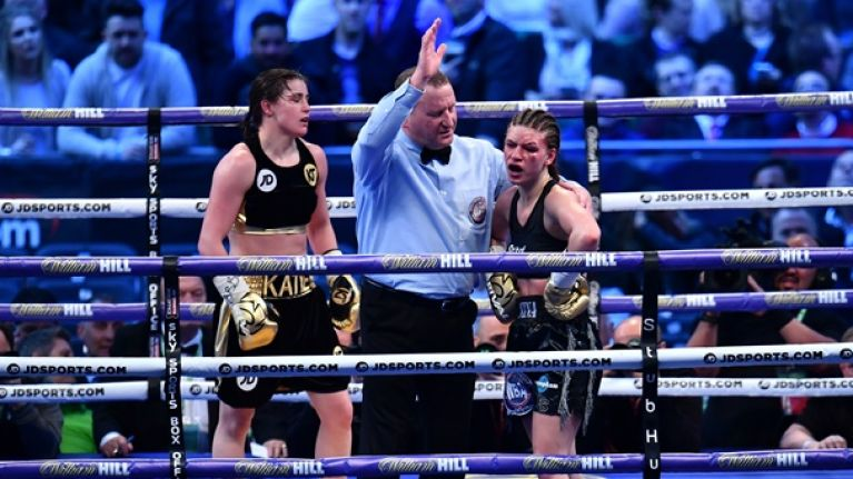 Top five knockouts of Katie Taylor's pro career