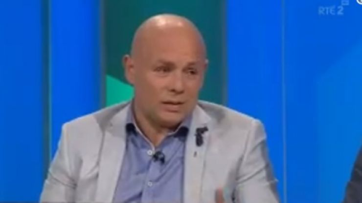 'If that's a yellow card we might as well give it up' - McGrath on Gleeson skirmish