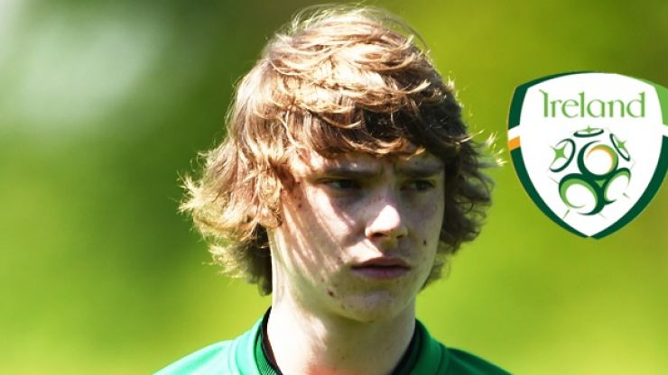 Luca Connell is in the Ireland squad