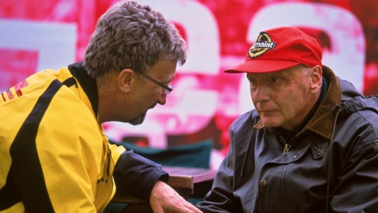 Eddie Jordan leads tributes after Formula 1 icon Niki Lauda dies aged 70