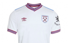 You can buy the new West Ham jersey without the sponsor