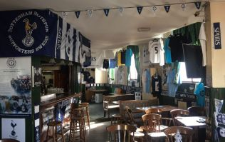 Spurs fans wave goodbye to supporters club home on North Frederick Street