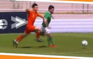 Brighton's Aaron Connolly carves up China for Ireland U21s