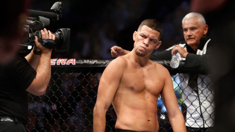 Nate Diaz details the time he slapped Khabib Nurmagomedov