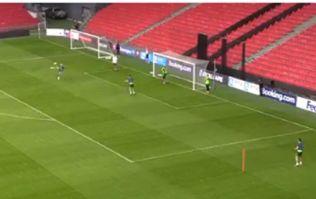 Glenn Whelan scores outrageous training ground volley