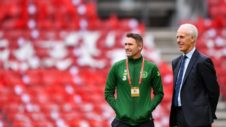 Ireland name team to play Denmark in Euro 2020 qualifier