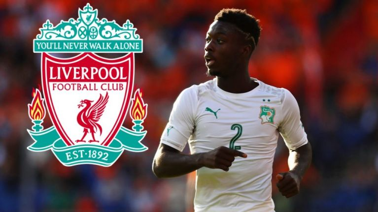 Highly rated Ivory Coast winger Nicolas Pepe 'talking to Liverpool'
