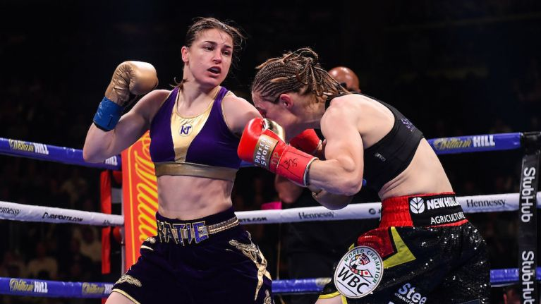Katie Taylor is undisputed lightweight champion of the world after controversial decision