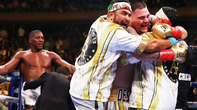 Who is Andy Ruiz Junior? The 'chubby kid' who stunned AJ and the world