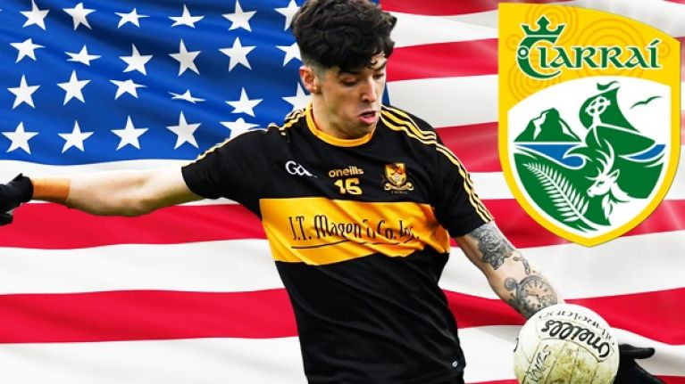 Brosnan gearing up for a summer of football a long way from Kerry
