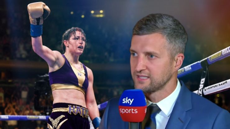 Tony Bellew defends Katie Taylor after Carl Froch tirade