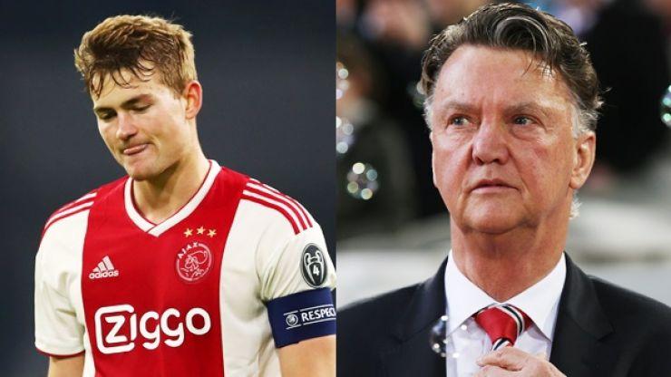 Straight shooter Van Gaal urges De Ligt to join City in wonderful way