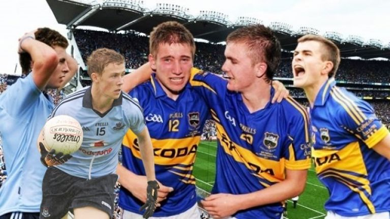 The Tipp minors who beat Dublin's golden generation: the ones that got away