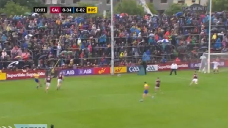 Conor Cox scores outrageous end-line point for Roscommon