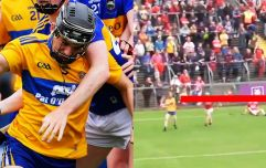 Stop the lights, a Clare minor has scored one of the most ridiculous points hurling has ever seen
