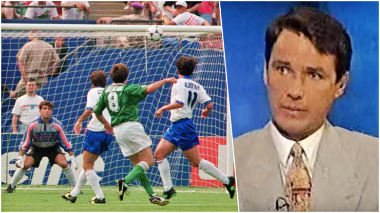 """""""Never back against the Irish"""" - How the BBC covered our USA 94 win over Italy"""