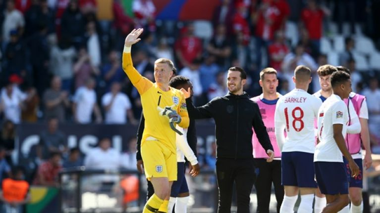 Pickford named in UEFA Nations League team of the tournament