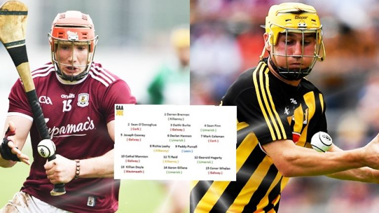 Hurling team of the weekend