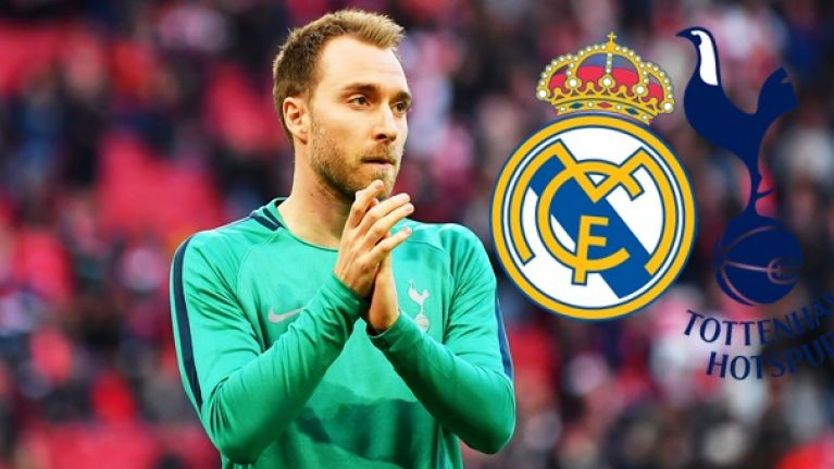 Christian Eriksen looks set to stick with Spurs