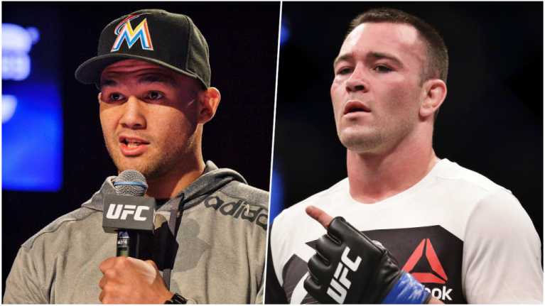 Colby Covington not getting title shot without going through Robbie Lawler