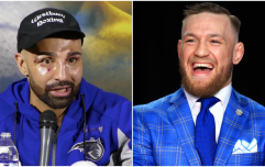 Conor McGregor's take on Paulie Malignaggi loss was remarkably measured